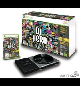 Dj Hero Turntable Kit для Xbox 360