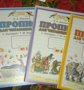 Прописи для читающих детей.