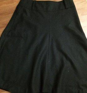 Новая шерстяная юбка