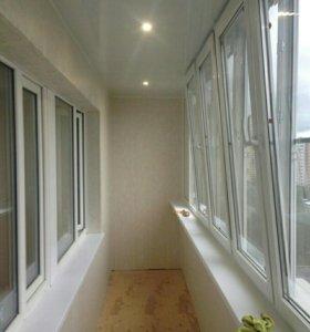 Монтаж окон , остекление балконов, лоджий
