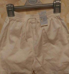 Новые шорты на мальчика 8-9 лет