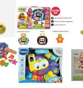 Игрушки Ks Kids, Vtech, Melissa & Dough, ELC