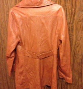 Куртка женская кожаная, новая