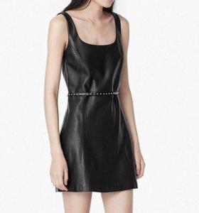 Продам кожаное платье