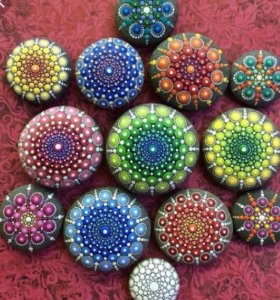 Разрисованные камешки