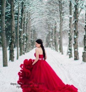 Платье облако прокат аренда