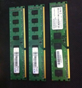 Оперативная память DDR 3 12gb 10600 PC-3