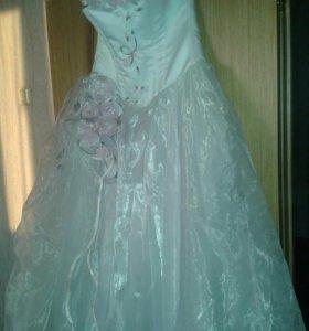 Продам свадебное платье .