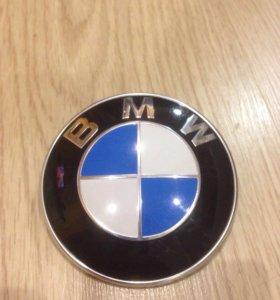 эмблема капота BMW БМВ