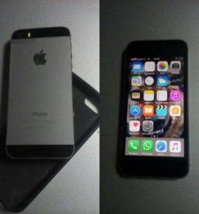 Айфон 5s спейс грей