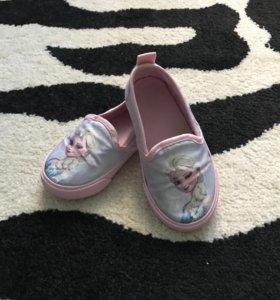 Слипоны - мягкие туфли hm 24р
