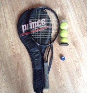 Продам дешево 3 теннисные ракетки