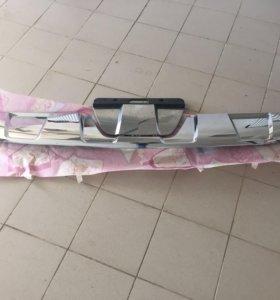 Gl x166 AMG Юбка (дефузор)заднего бампера