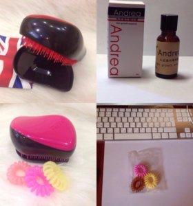 Сыворотка доя волос Andrea 3 флакона и подарок