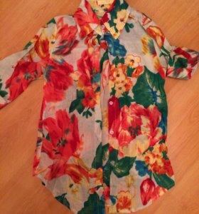 Новая рубашка- блузка