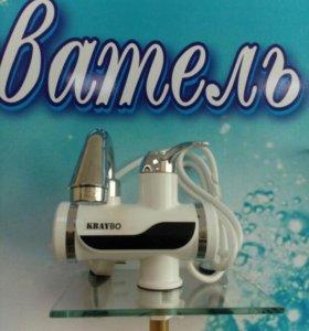 Поточный кран-водонагреватель.