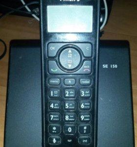 Радиотелефон Филипс б/у работает отлично