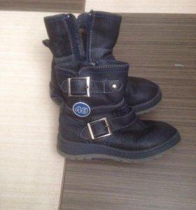 Зимние ботиночки б/у