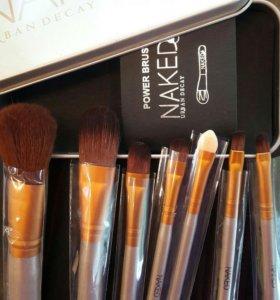 Набор кистей для макияжа 7шт