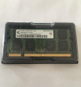 Оперативная память sodimm ddr2 2gb (1+1) pc2-5300
