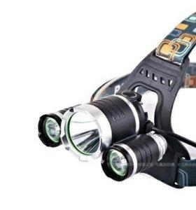 Налобный фонарь Cree t6