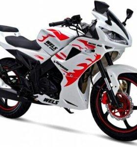Мотоцикл WELS SUPERRIOR 250cc
