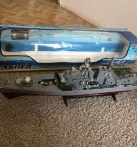 Корабль на радио управлении