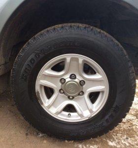 Bridgestone 265/70/16 и диски