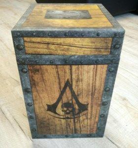 Коробка от assassins black flag