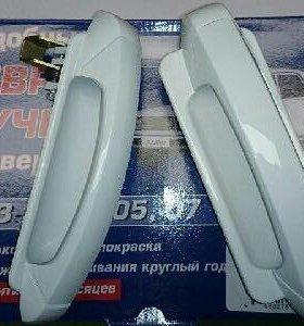 Ручки на евро ваз 2107 белые