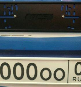 Автомобильные рамки силиконовые RCS®