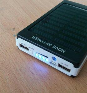 Внешний аккумулятор на 50000 mAh, и от солнца