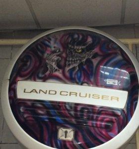 Колпак заднего колеса Land Cruiser