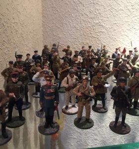 Коллекция солдатиков ВОВ