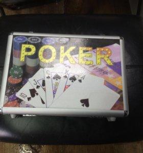 Набор для покера новый