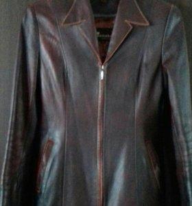 Куртка кожаная.44-46.
