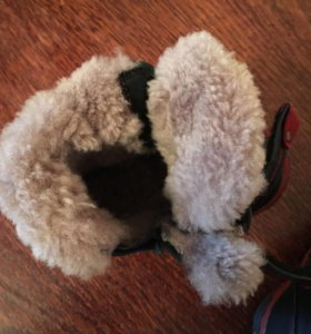 Ботинки зимние 21р-р 13,5 по стельке