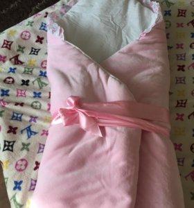 Конверт. Тёплое одеяло на выписку