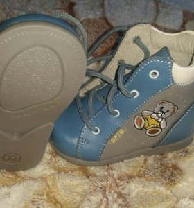 Ботиночки новые первый шаг 17 размер