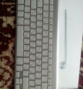 Беспроводная клава Apple . Процеср,чип i5 240 ггц