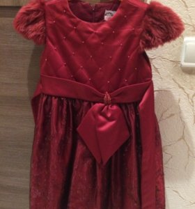 Платье нарядное, размер 6