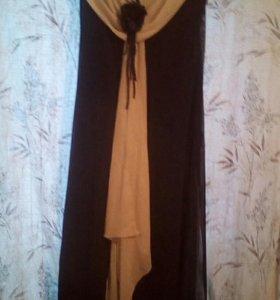 Вечернее платье б\у 52 размер