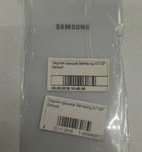 Задняя крышка Samsung A7 2016
