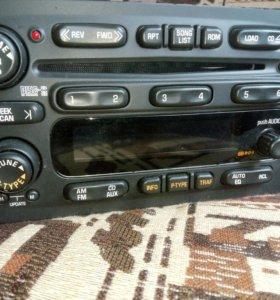 Pontiac Vibe, Toyota  магнитола с 6-диск чейнжером