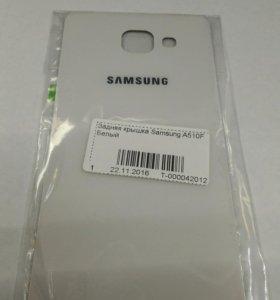 Задняя крышка Samsung A5 2016 белого цвета