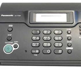 Телефон факс новый