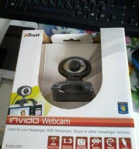 Веб камера нераспакованая, новая.