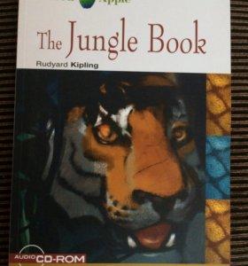 Книга джунглей на английском с диском и играми