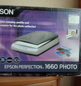 Сканер Epson perfection 1660 Photo