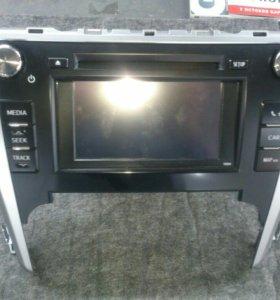 Магнитола Toyota Camry V50 с экраном